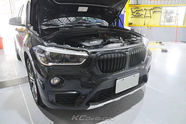 BMW F48 X1 安裝 KCDesign 引擎室拉桿、後行李箱拉桿_018.jpg