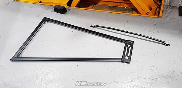 Audi A4 B8.5 升級 KCDesign 前下4點式結構桿、引擎室拉桿_001.jpg