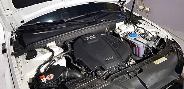 Audi A4 B8.5 升級 KCDesign 前下4點式結構桿、引擎室拉桿_010.jpg