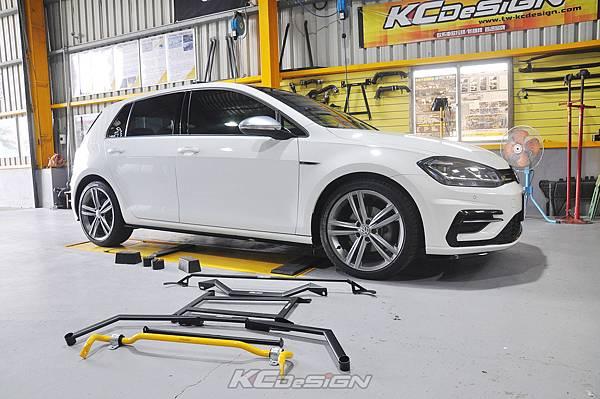 VW Golf 7.5 1.4 安裝 KCDesign 全車底盤結構桿、後防傾桿_002.jpg