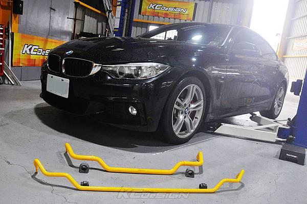 BMW F36 420i GC 安裝 KCDesign 前28後21防傾桿_002.jpg