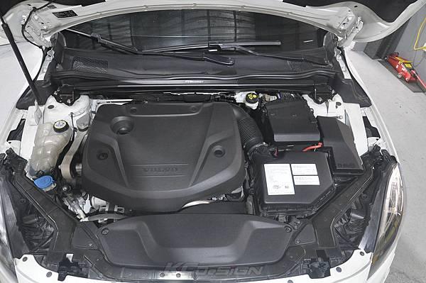 Volvo V40 CC D4 安裝 KCDesign 引擎室拉桿、前防傾桿_005.jpg