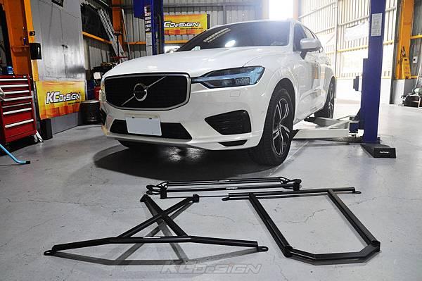 Volvo XC60 T8 安裝 KCDesign 底盤結構桿(4件式)、鋁合金下護版_002.jpg