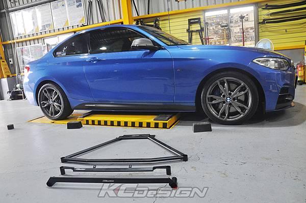 BMW F22 235i 升級 KCesign 底盤結構桿(三件式)_003.jpg