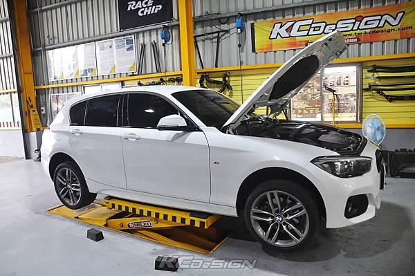 BMW F20 Lci 120i 升級 KCDesign 倒插式避震器(前6後7)_001.jpg