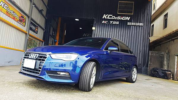 Audi A3 8V 升級 KCDesign 前後防傾桿_001.jpg