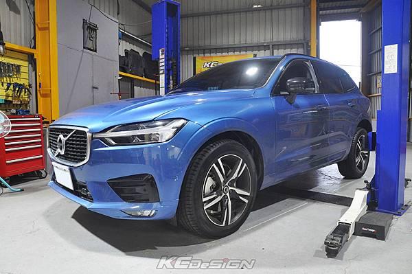 Volvo XC60 T5RD 安裝 KCDesign 鋁合金渦輪管、底盤4點式拉桿、後行李箱墊_034.jpg