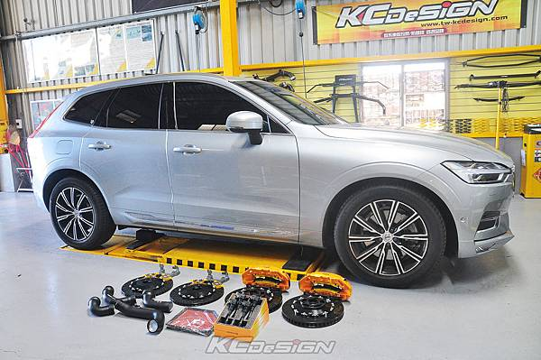 Volvo XC60 T6i 升級 KCDesign 前6活塞後加大碟、鋁合金渦輪管、高流量濾網、競技板考耳_022.jpg