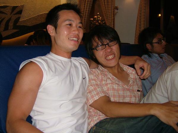 我&楊卓翰