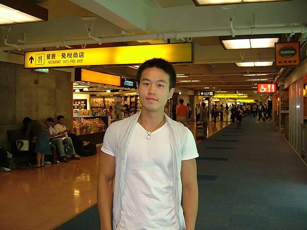 機場免稅店外