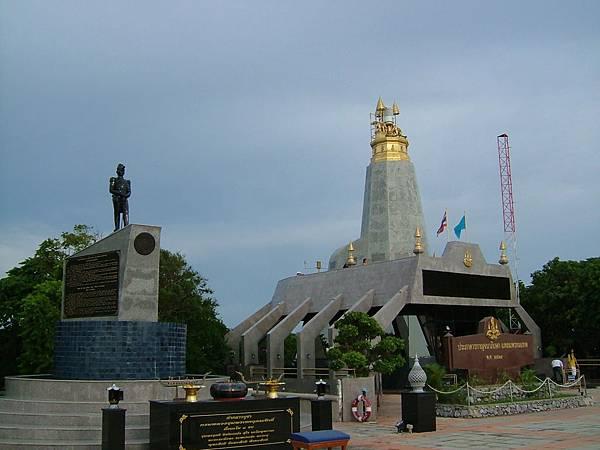 神仙半島泰皇50周年紀念碑