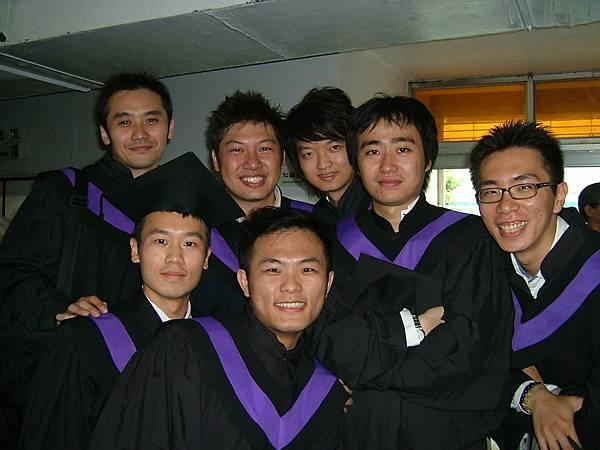 【左→右】王祥、孟儒、國靖、宗佑、小閔、徐至正、正樺