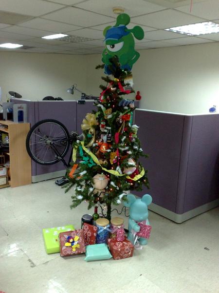 2008年聖誕樹