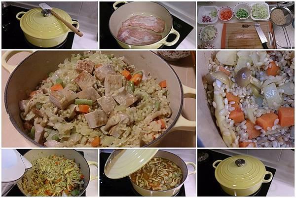 LE CREUSET 24cm黃色燉飯鍋.jpg