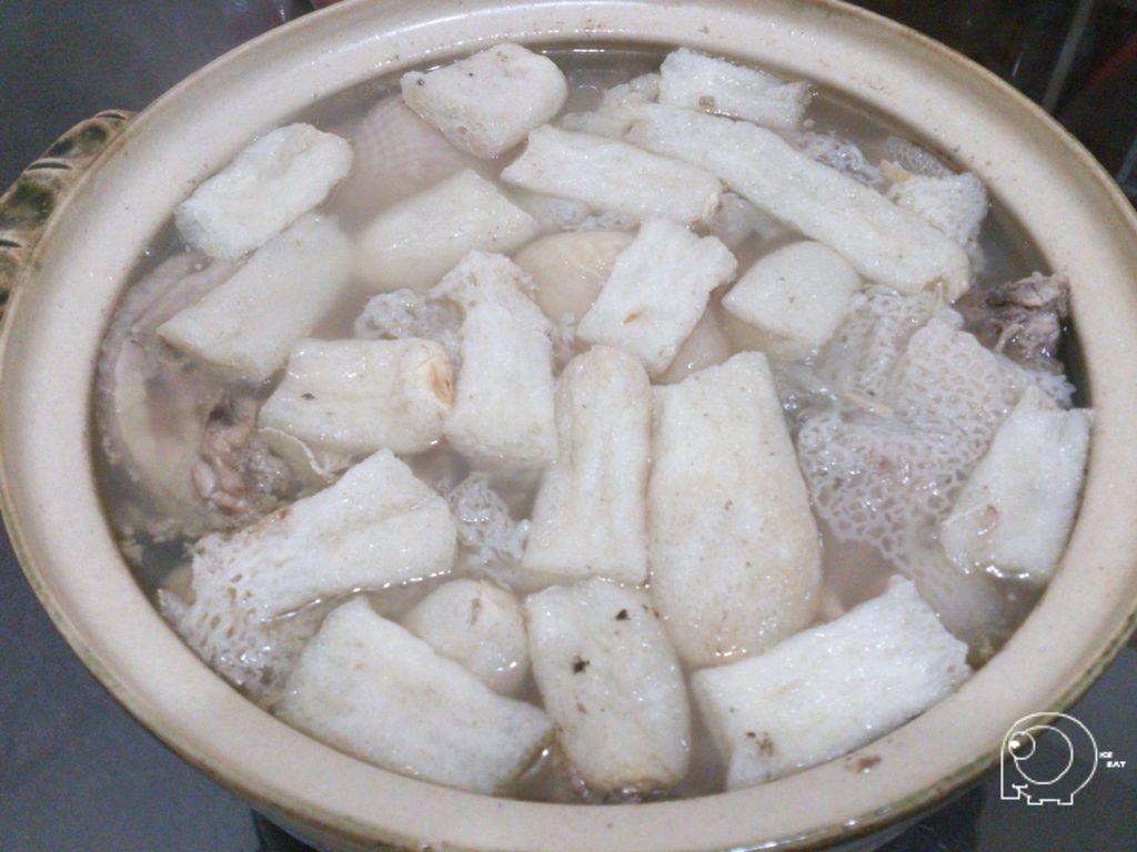 竹笙雞湯完成