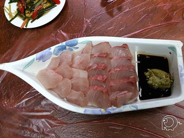 紅魽生魚片