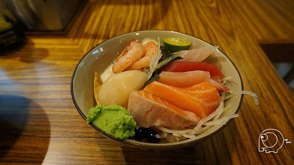 干貝甜蝦丼