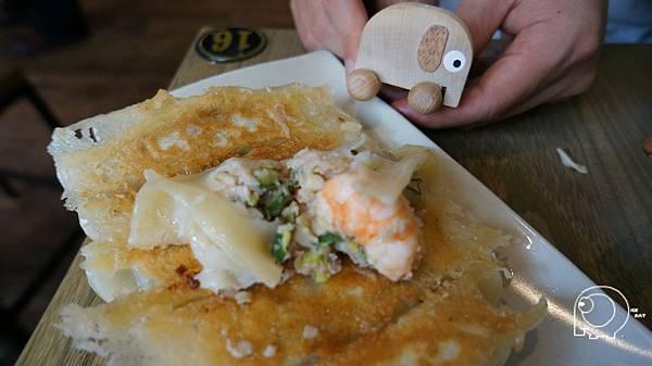 海老鮮肉煎餃