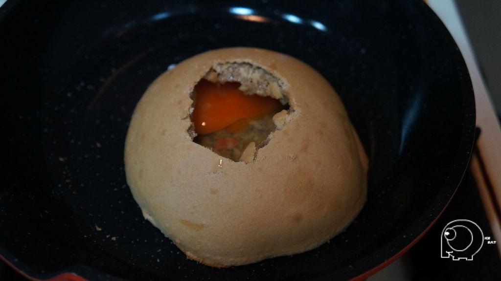黑糖香餅加蛋