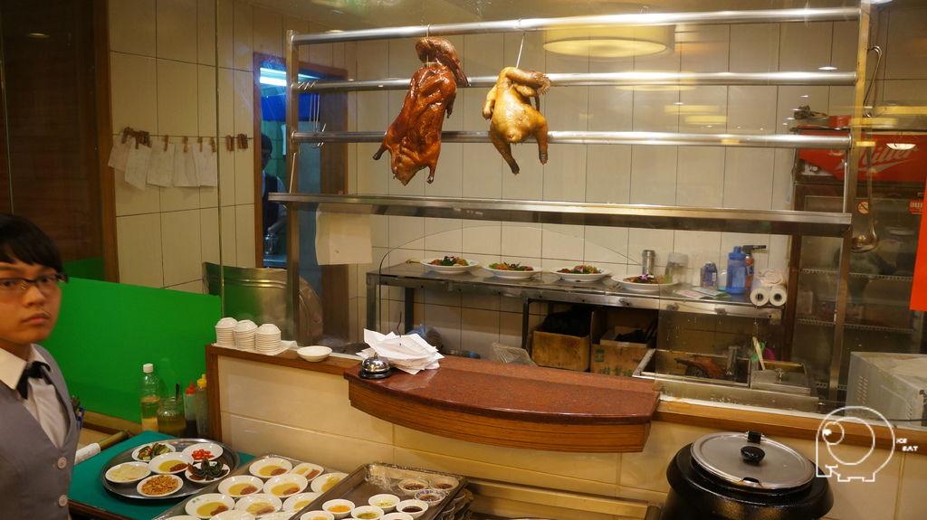 烤鴨、油雞