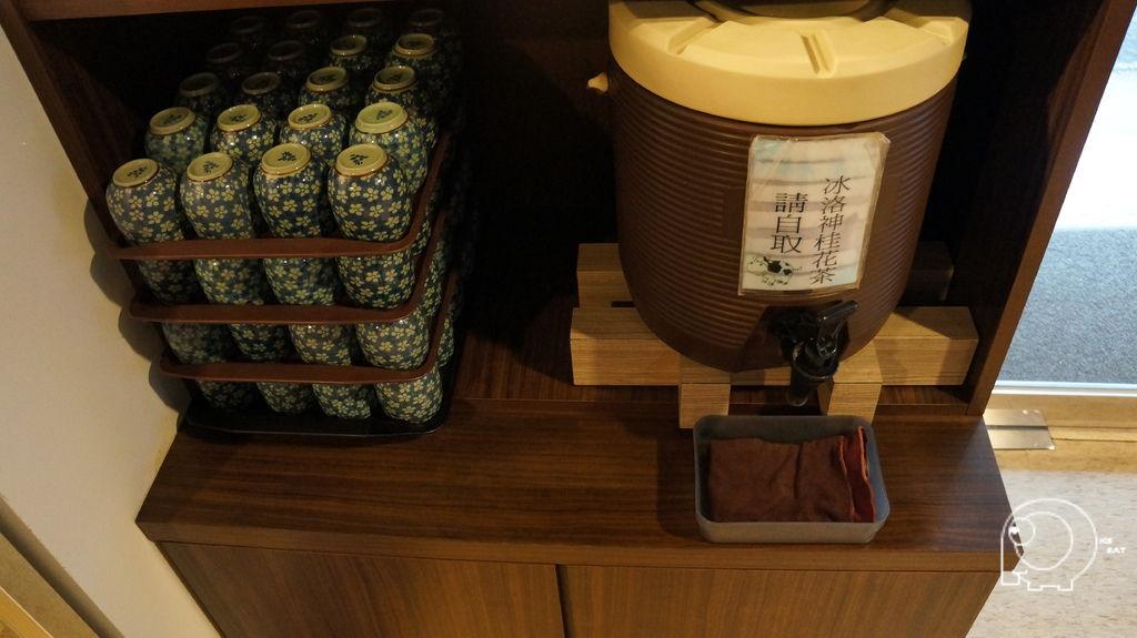 冰洛神桂花茶