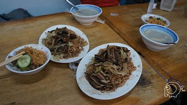 炒鱔魚意麵