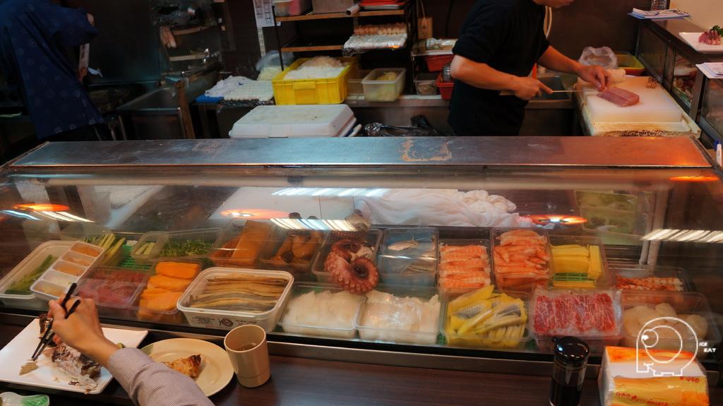 生魚片冷藏區