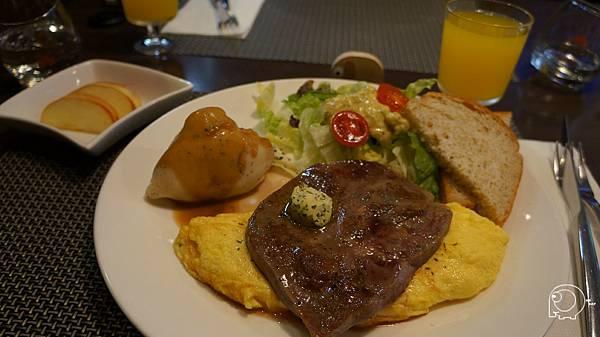 香料烤牛肉歐姆蛋