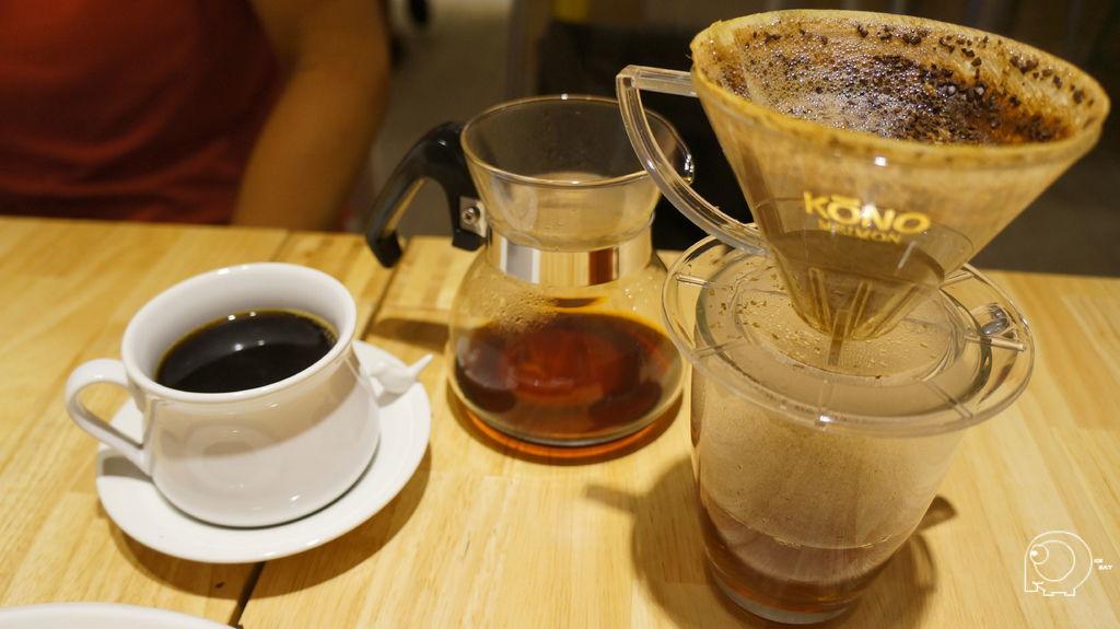 手工咖啡完成