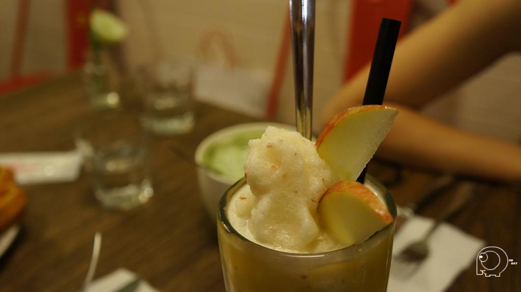 蘋果鳳梨冰沙