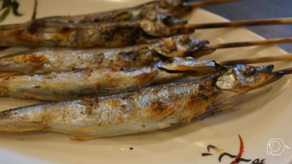 鹽烤柳葉魚