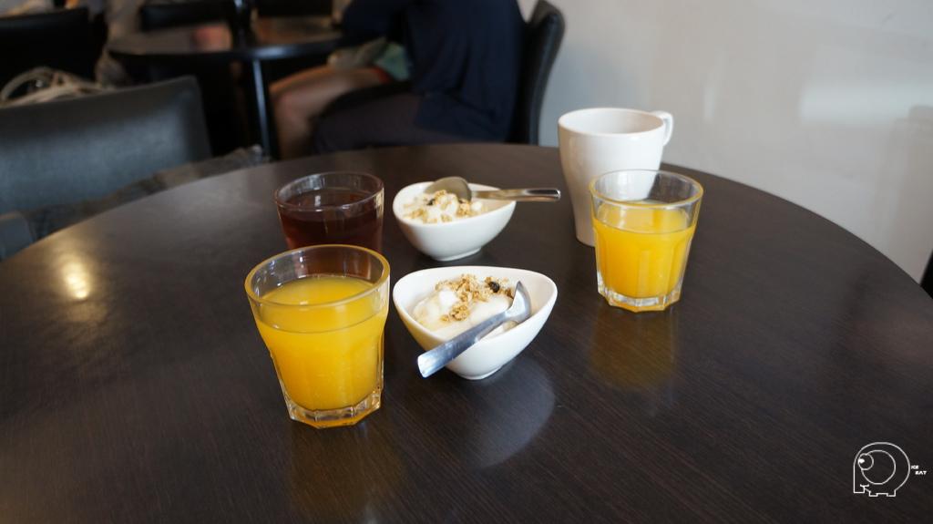 柳橙汁&優格