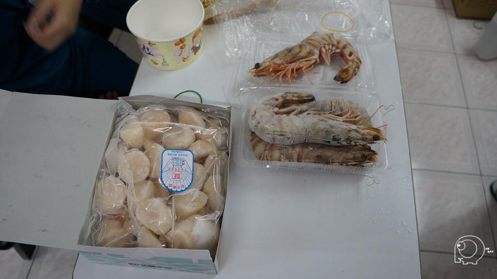 大明蝦&干貝