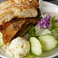 豬肋排肉三明治
