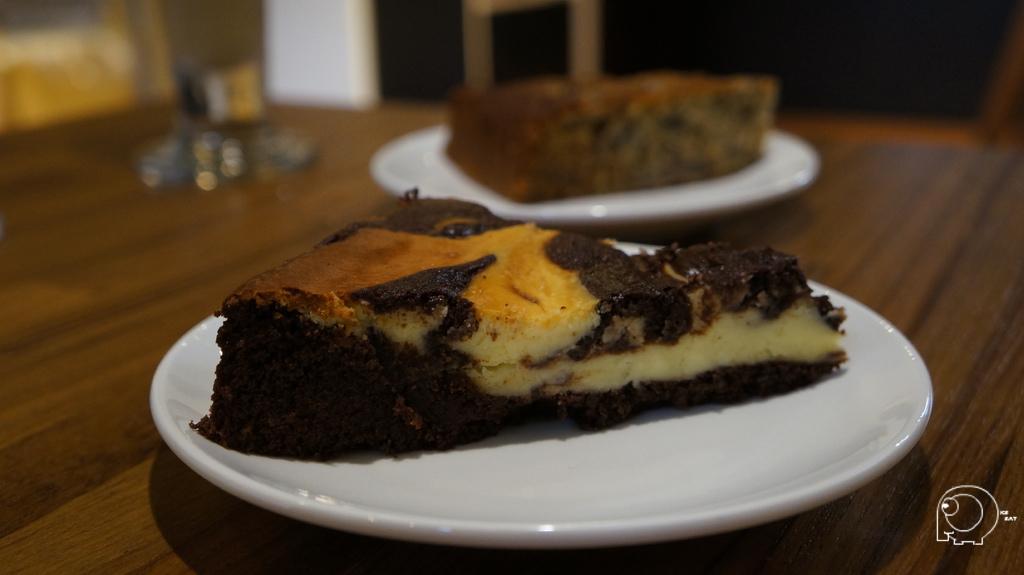 布朗尼起司蛋糕&香蕉蛋糕