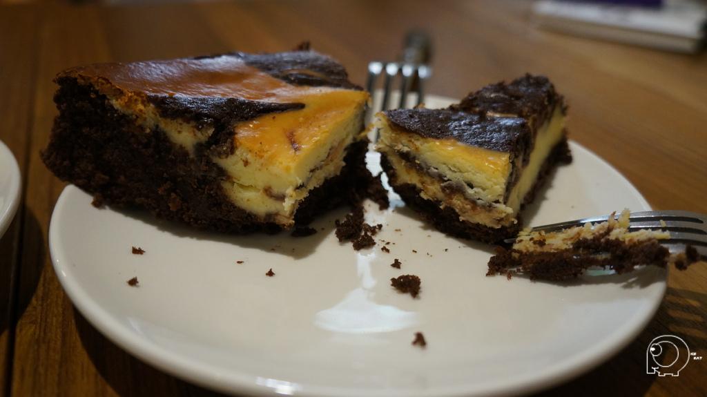 布朗尼起司蛋糕