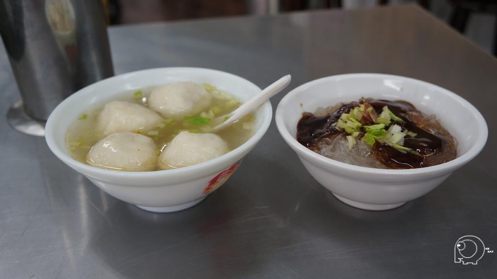 乾冬粉&魚丸湯