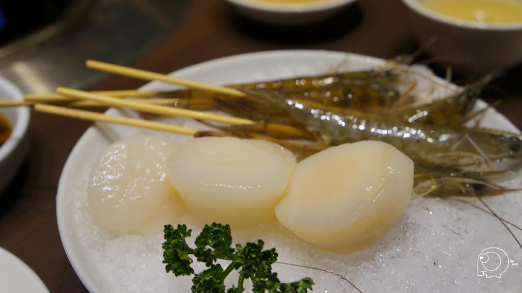 白玉貝&活沙蝦