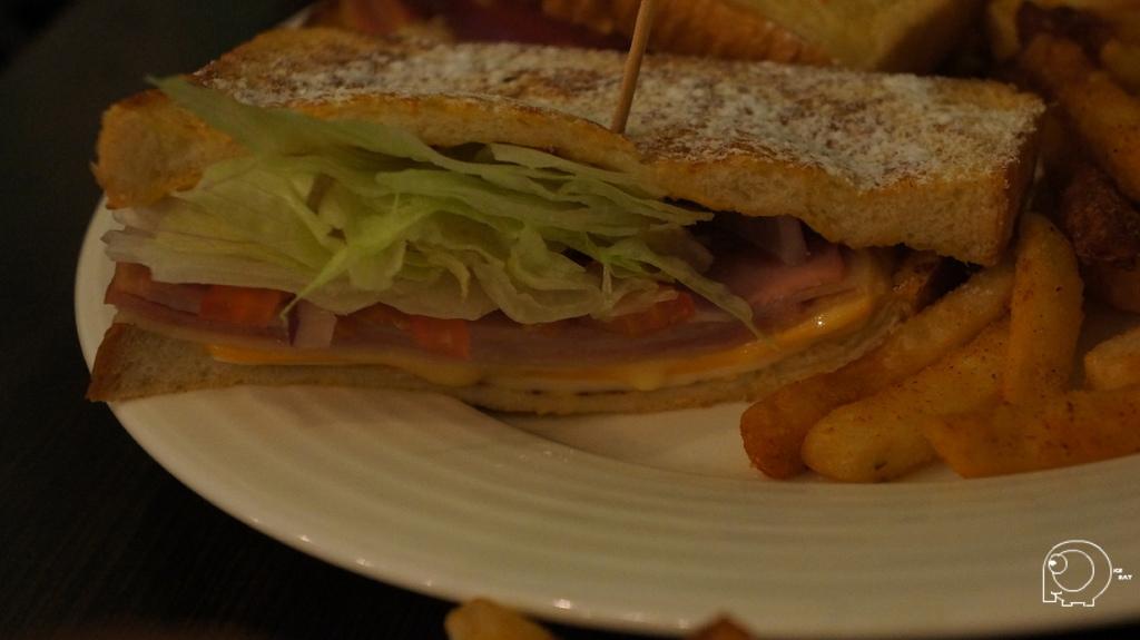 法式香甜總匯三明治