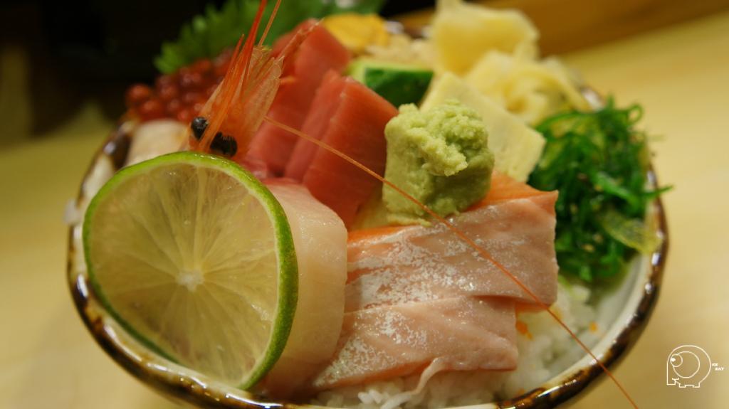 特上海鮮散壽司