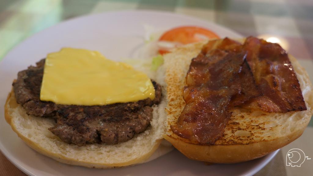 大培根起司漢堡