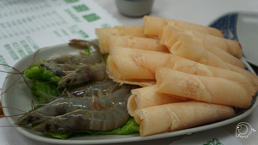 鮮蝦鍋加雞肉