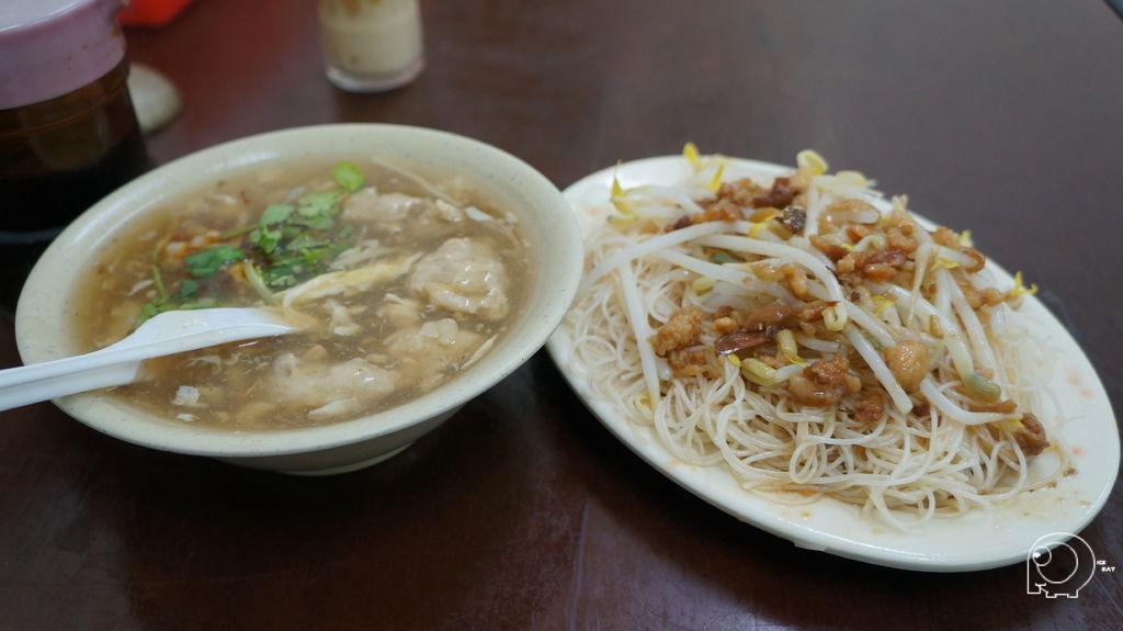 肉焿湯&炒米粉
