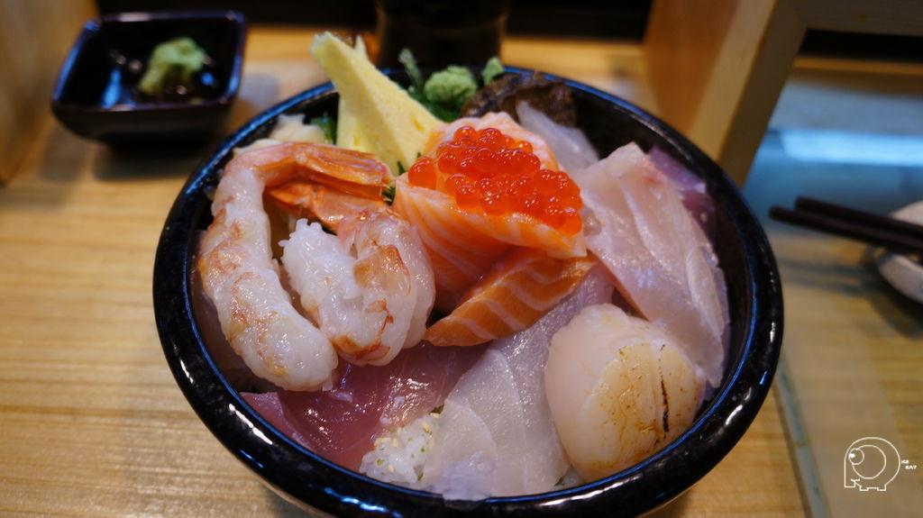 極の海鮮丼