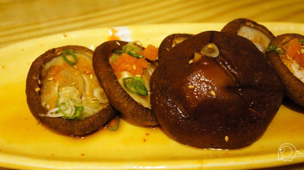 果醋烤香菇