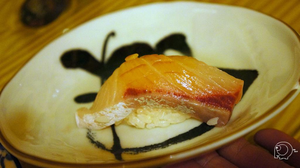 紅甘肚握壽司
