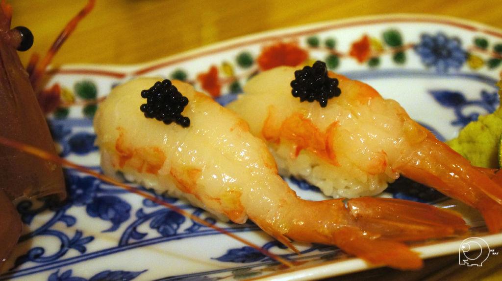 牡丹蝦握壽司