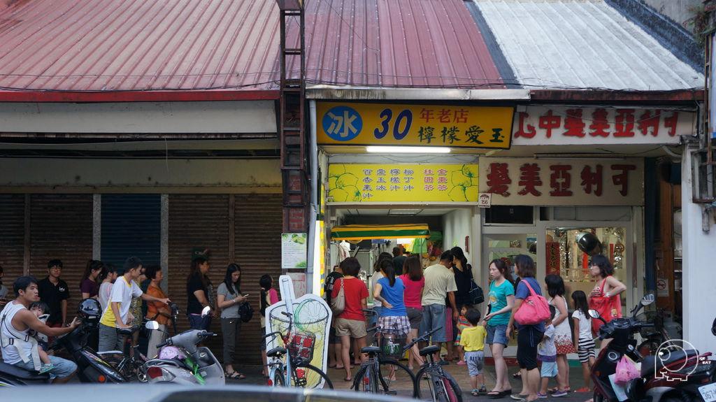 30年老店檸檬愛玉