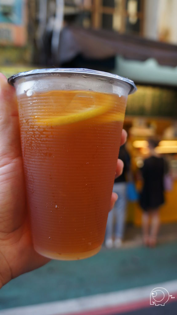 港式凍檸茶