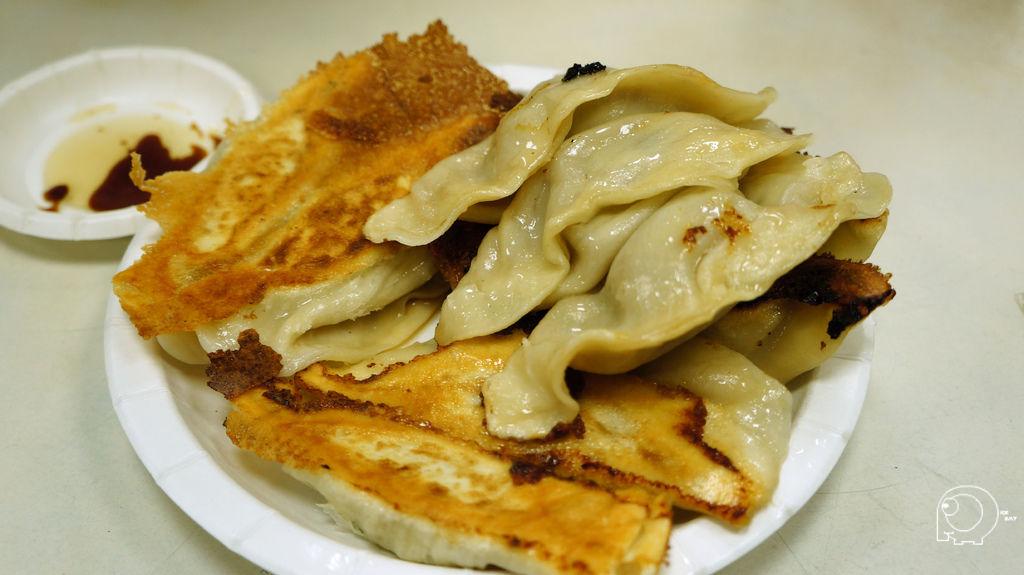 韭黃鮮肉鍋貼